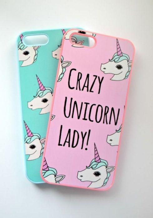 Funda Carcasa iPhone 7 Animal Gato Caticorn Unicorn Fun Kawaii 20