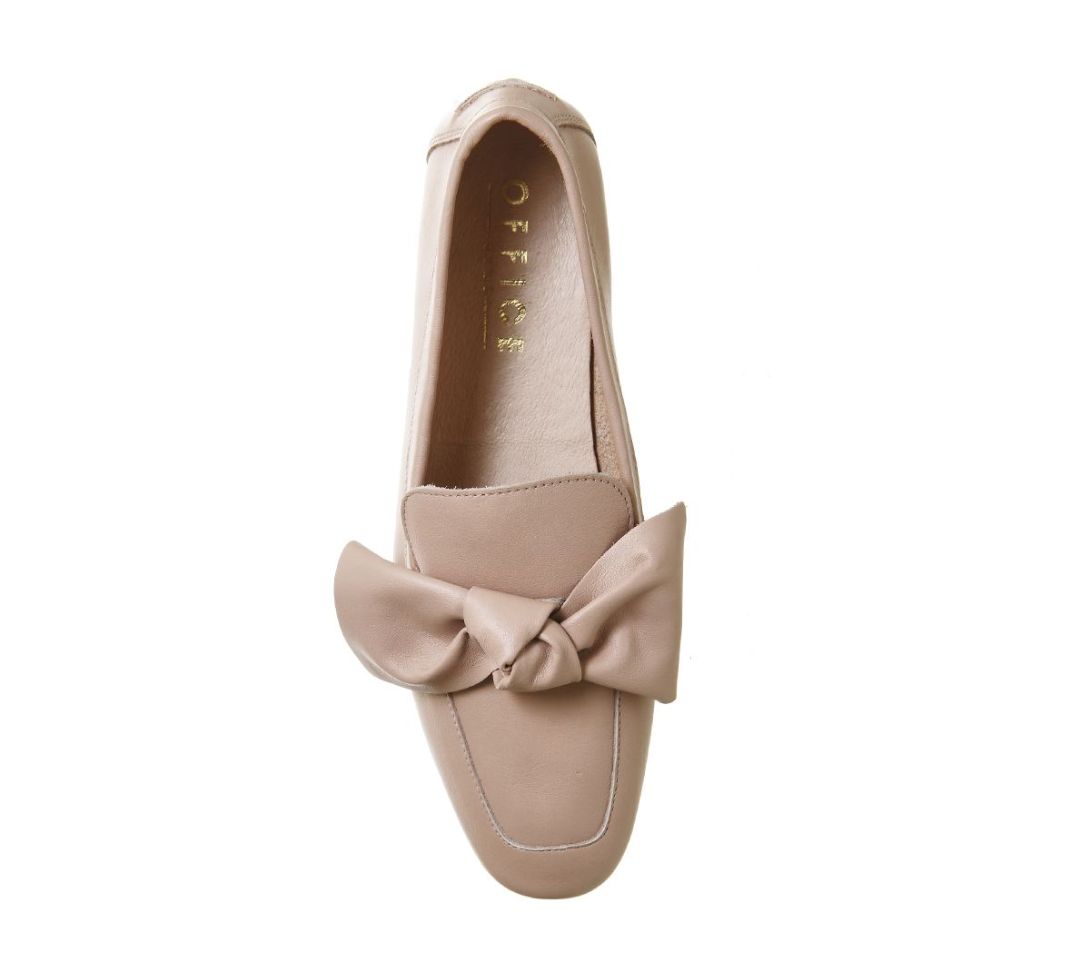 8ea72f113 Nude Leather Office Possum Bow Loafer - £68 OFFICE.co.uk. | shoes ...