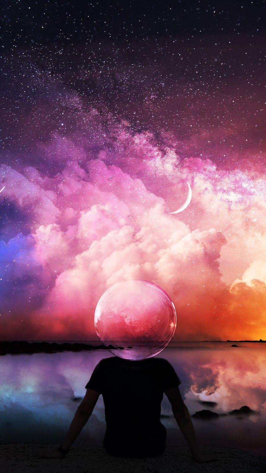 Beyond The Sky Night Sky Wallpaper Sky Aesthetic Art Wallpaper