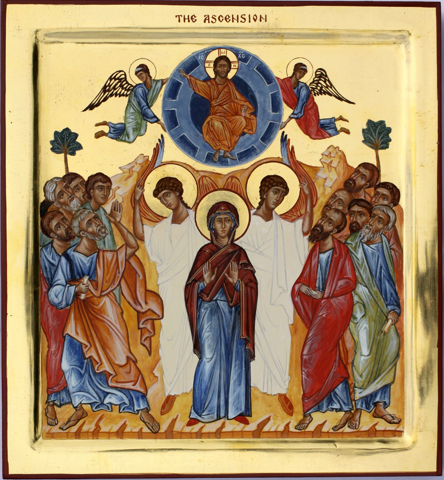 Image result for ascension icon greek orthodox