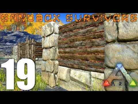 ark how to build a base with pillars