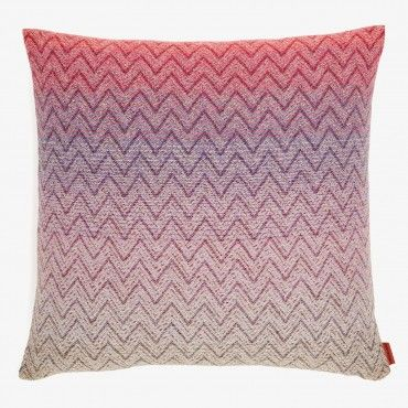 Missoni Home Pink Pascal Pillow Pillows Throw Pillows