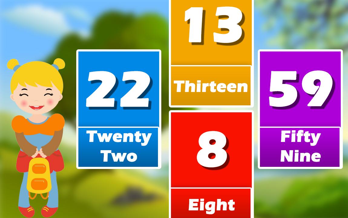 Preschool NumbersKids Math Learning GameKid Math Puzzle