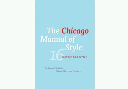 Chicago Manual Style Pdf