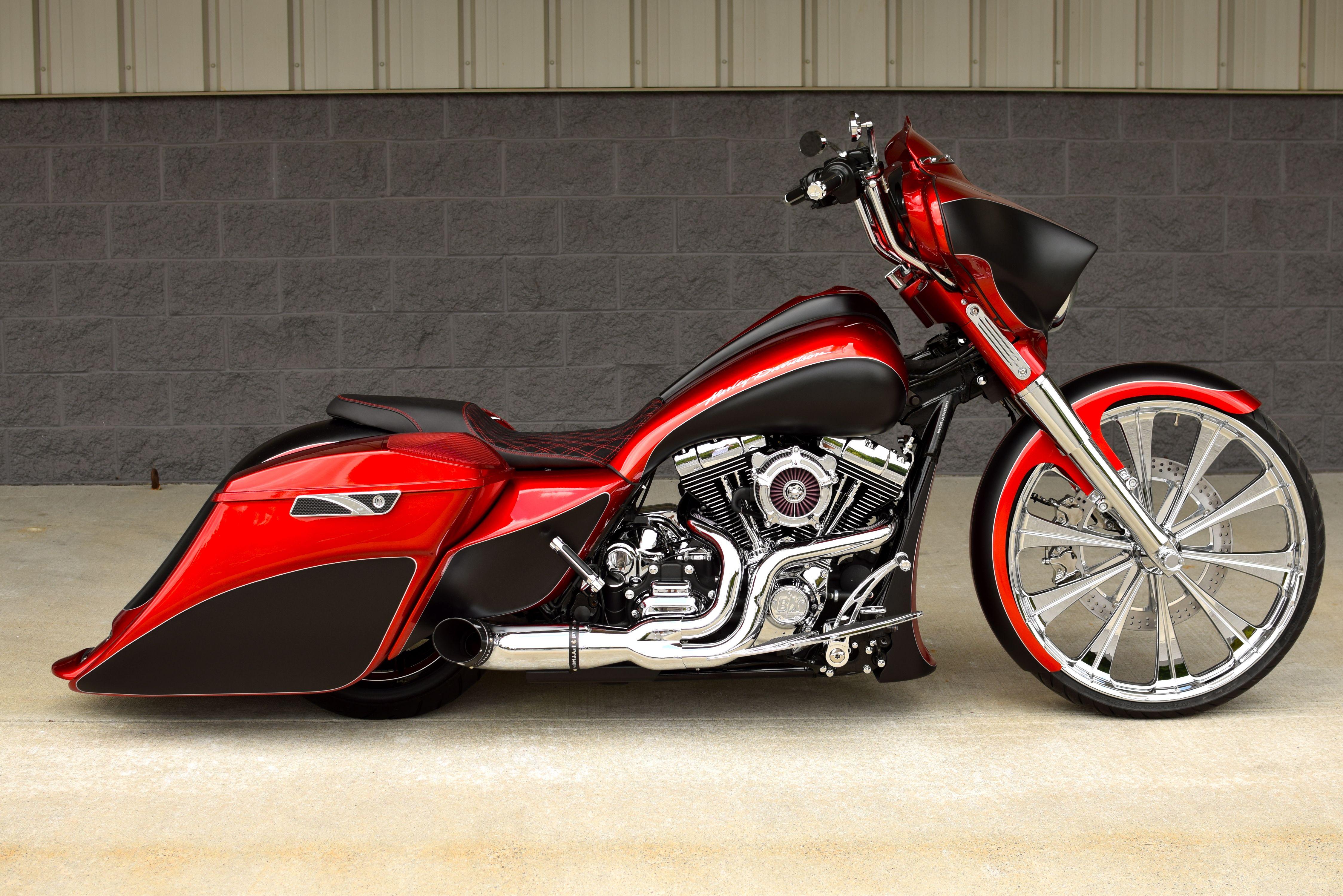 2017 Harley Davidson Street Glide Special 26 Wheel Custom Bagger 23 The Bike Exchange