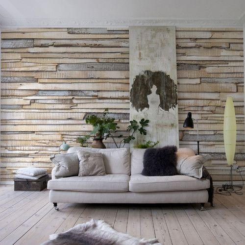 Found it at Wayfair - Gina White Washed Wall Mural