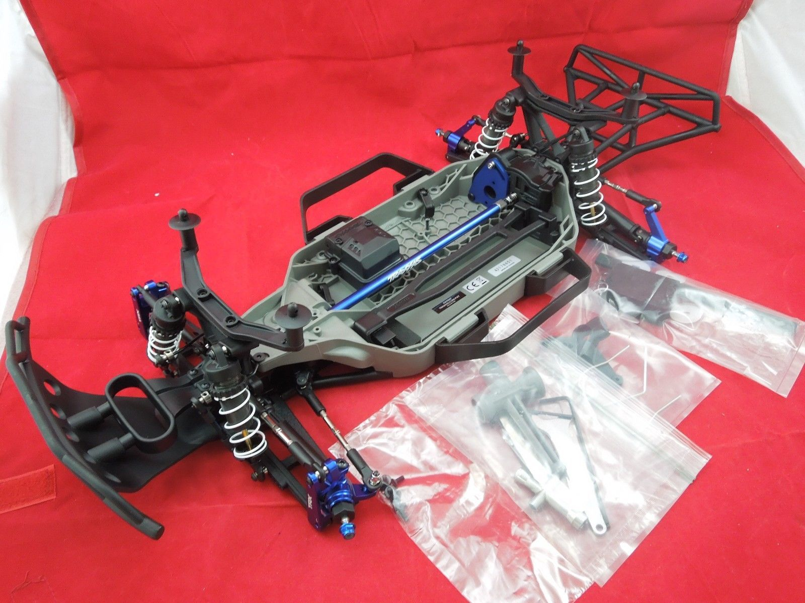 Traxxas Slash 4x4 Platinum 4WD LCG Pre Roller Rolling Chassis 4WD Ultimate 6804R