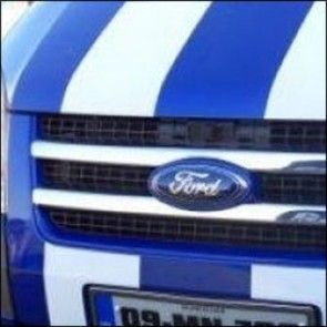 Ford Transit Mk7 Stainless Steel Front Grille Kit Set Of 2