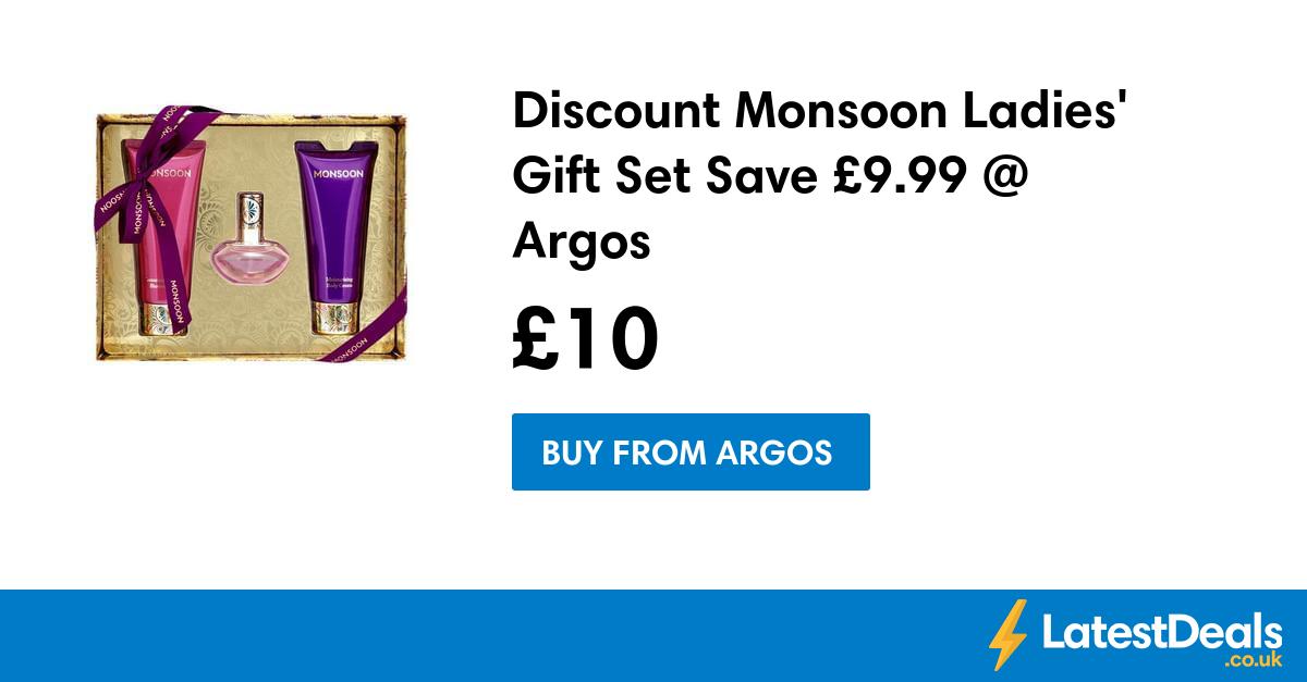 Discount Monsoon Ladies' Gift Set Save £9.99 Argos, £10