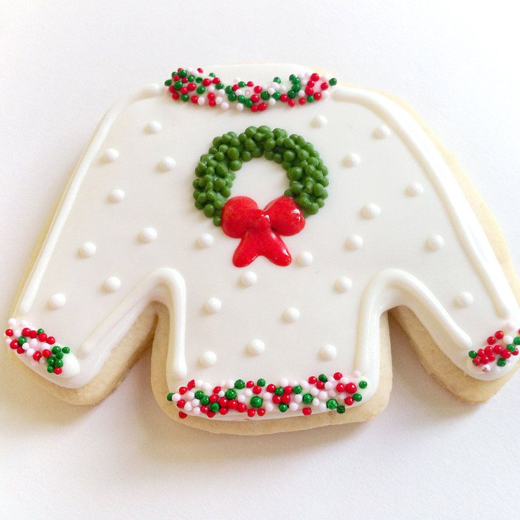 Ugly Christmas Sweater Party Food Ideas Part - 42: A Guide To Making The Cutest Ugly Christmas Sweater Cookies