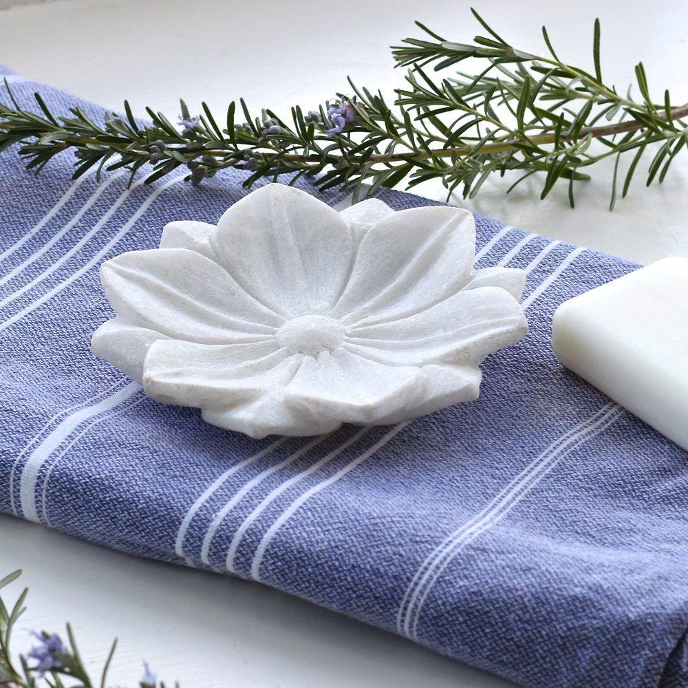 Marble Lotus Flower Bathroom Bowls Small BB010 Marble