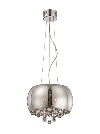 Check out the huge savings on new lite source othello ceiling lamp black chrome glass at lampsusa