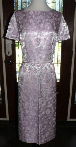 Vintage 1960's Formal Prom Bridal Party Dress XL XXL Lovely Pink Dress | eBay