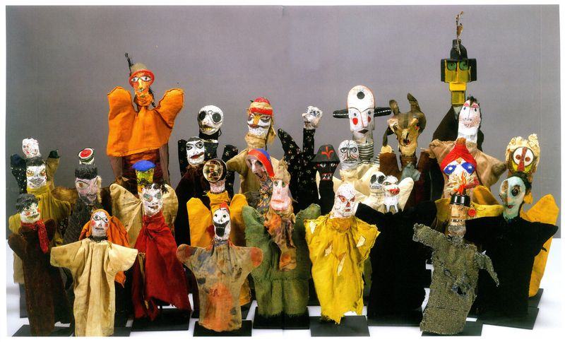 Group Portrait of Hand Puppets - Paul Klee (Swizterland, 1879-1940)