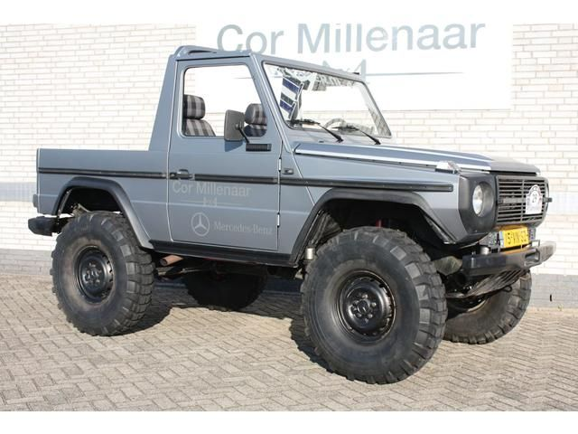 mercedes benz g klasse pick up diesel grijs 002 24554387 640 480 4x4 pinterest. Black Bedroom Furniture Sets. Home Design Ideas