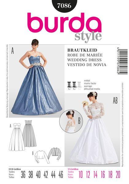 B7086 Sewing Patterns Nz Dresses Childrens Babies Toddlers Simplicity Burda New In 2020 Wedding Dress Patterns Womens Wedding Dresses Sewing Wedding Dress