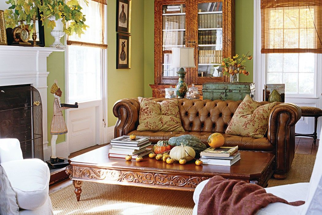 Fall Living Room Decor. Autumn Living Room  The Art of Cottage Cozy Cottages