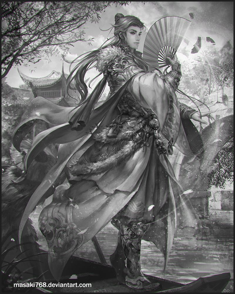wuxia by masaki768 on deviantART | Fantasy Art | Digital art