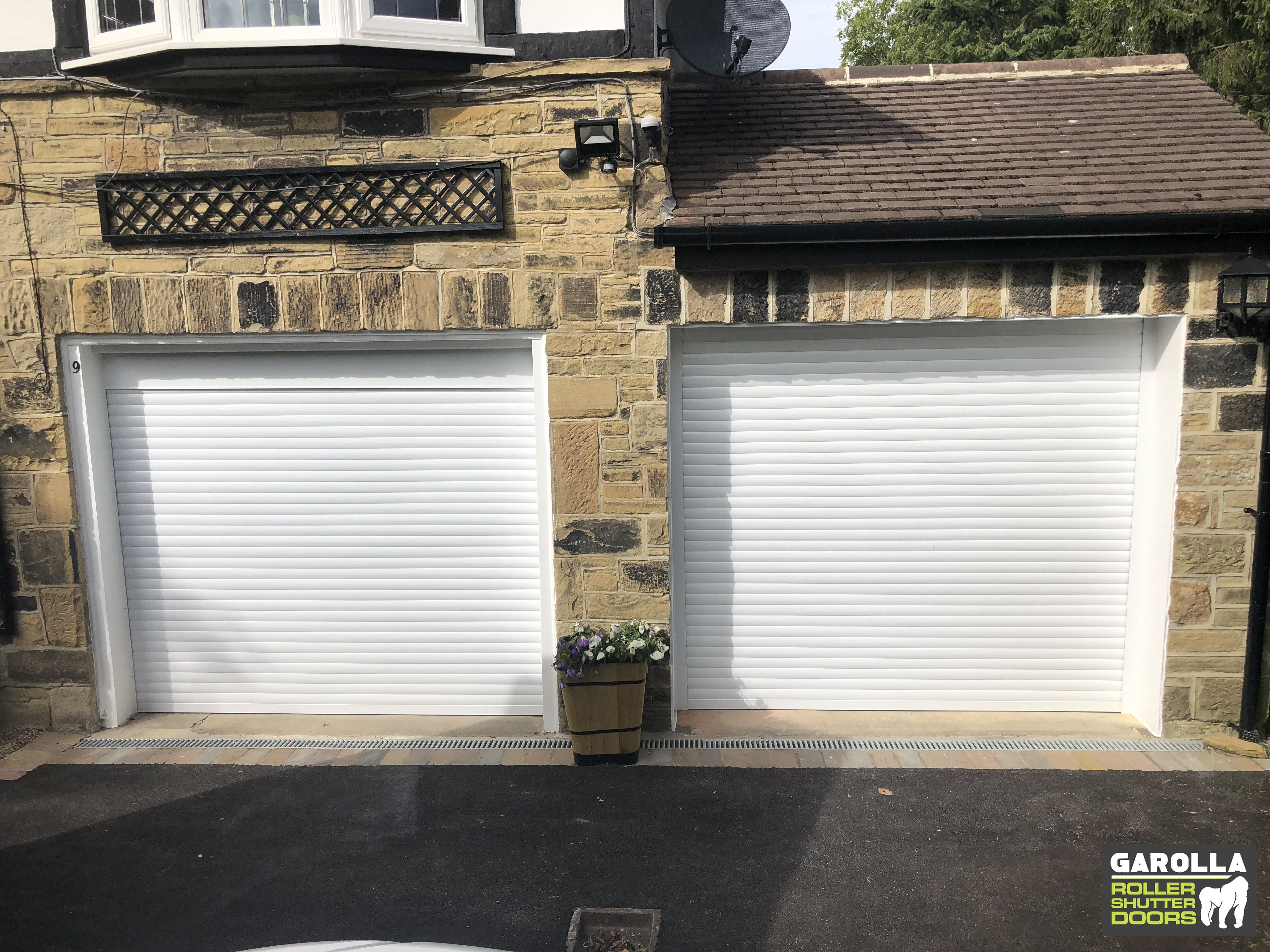 Double Garage Doors In 2020 Garage Doors Double Garage Door Garage Door Cost