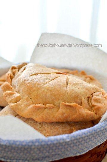 Garam Masala Tuesdays: Chicken Tikka Pasties - The Novice Housewife