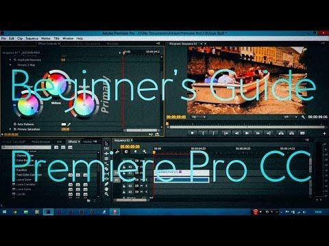 adobe premiere pro cs6 tutorial beginner pdf