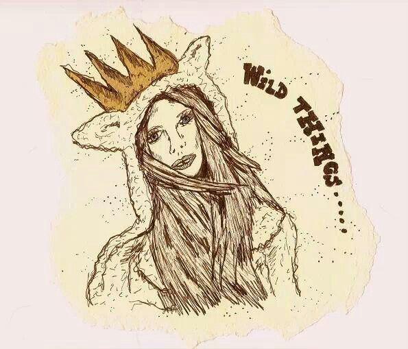 Wild things illustration