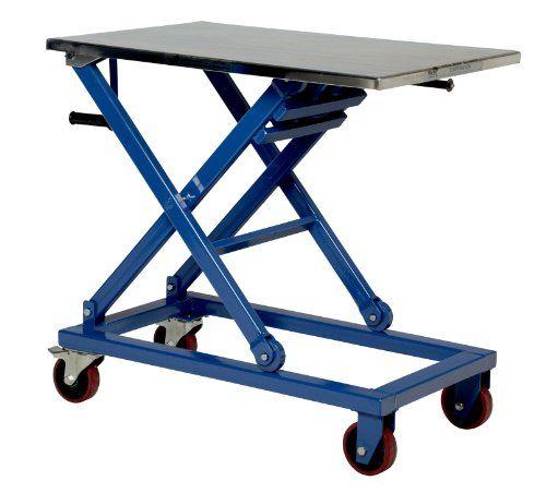 Vestil Cart 660 M Adjustable Height Steel Mechanical