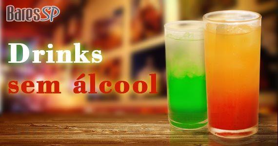 Saiba como preparar 5 deliciosos coquetéis sem álcool