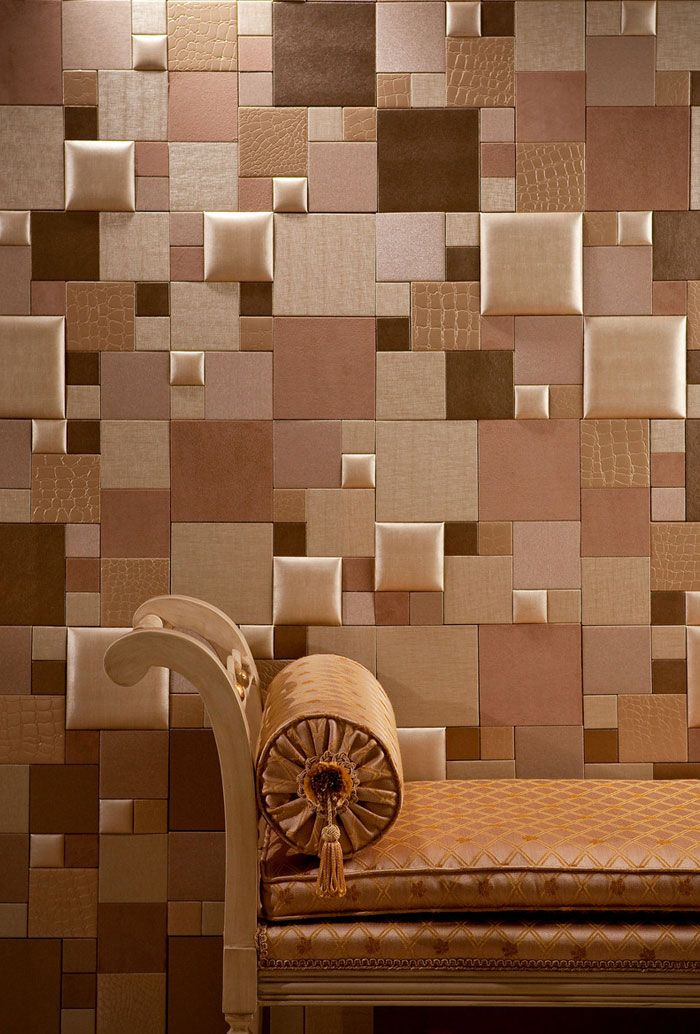 Nappatile Faux Leather Wall Tiles By Concertex Faux Leather Mosaic
