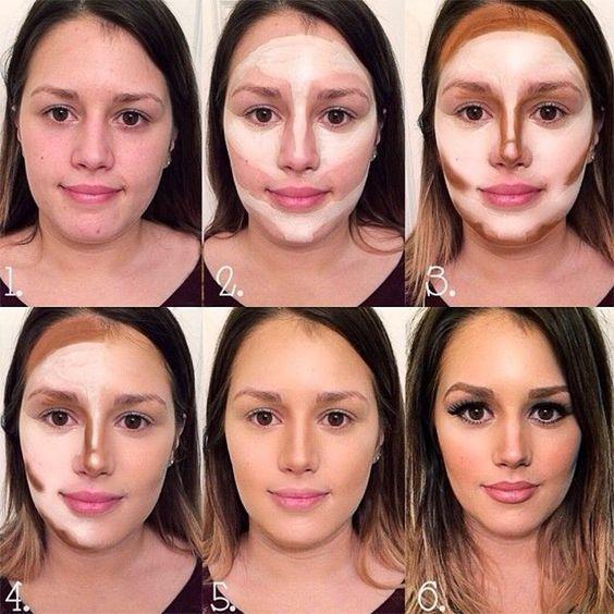 Tecnicas de maquillaje para adelgazar la cara
