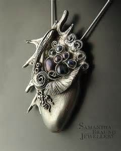 beautiful silver clay pendants - - Yahoo Image Search Results