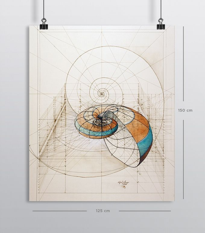 Rafael Araujo S Golden Ratio Colouring Book Drawing Painting