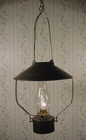 Old Store Oil Lamp Tin Light Lamp Light Primitive Lighting Vintage Light Fixtures