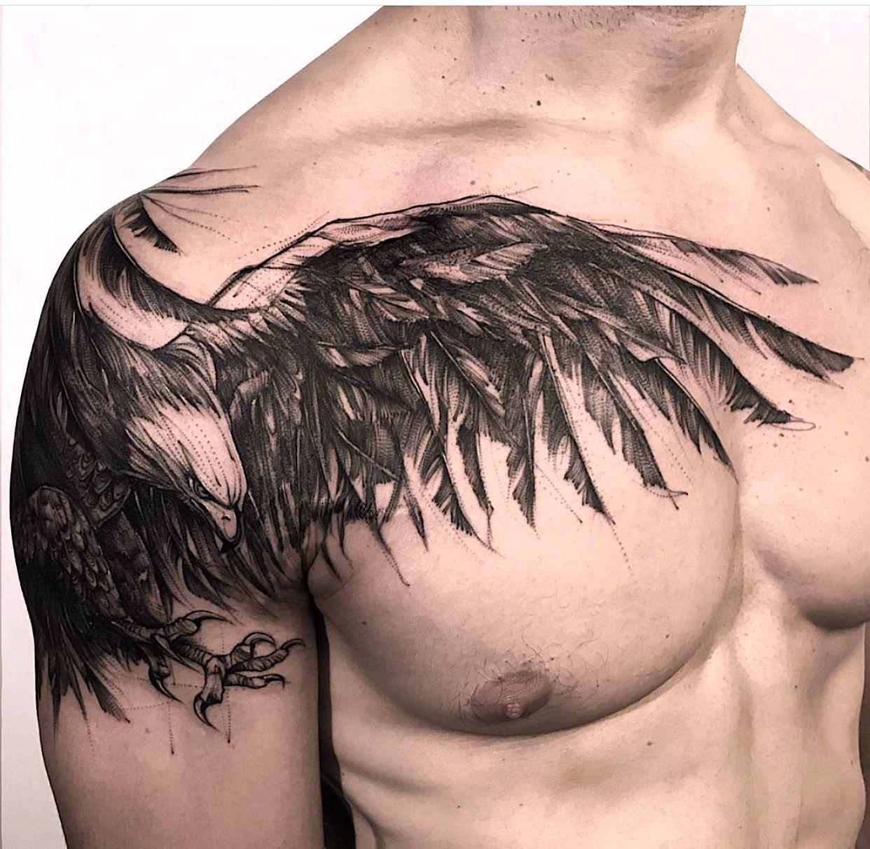 22 Tattoo pectoral