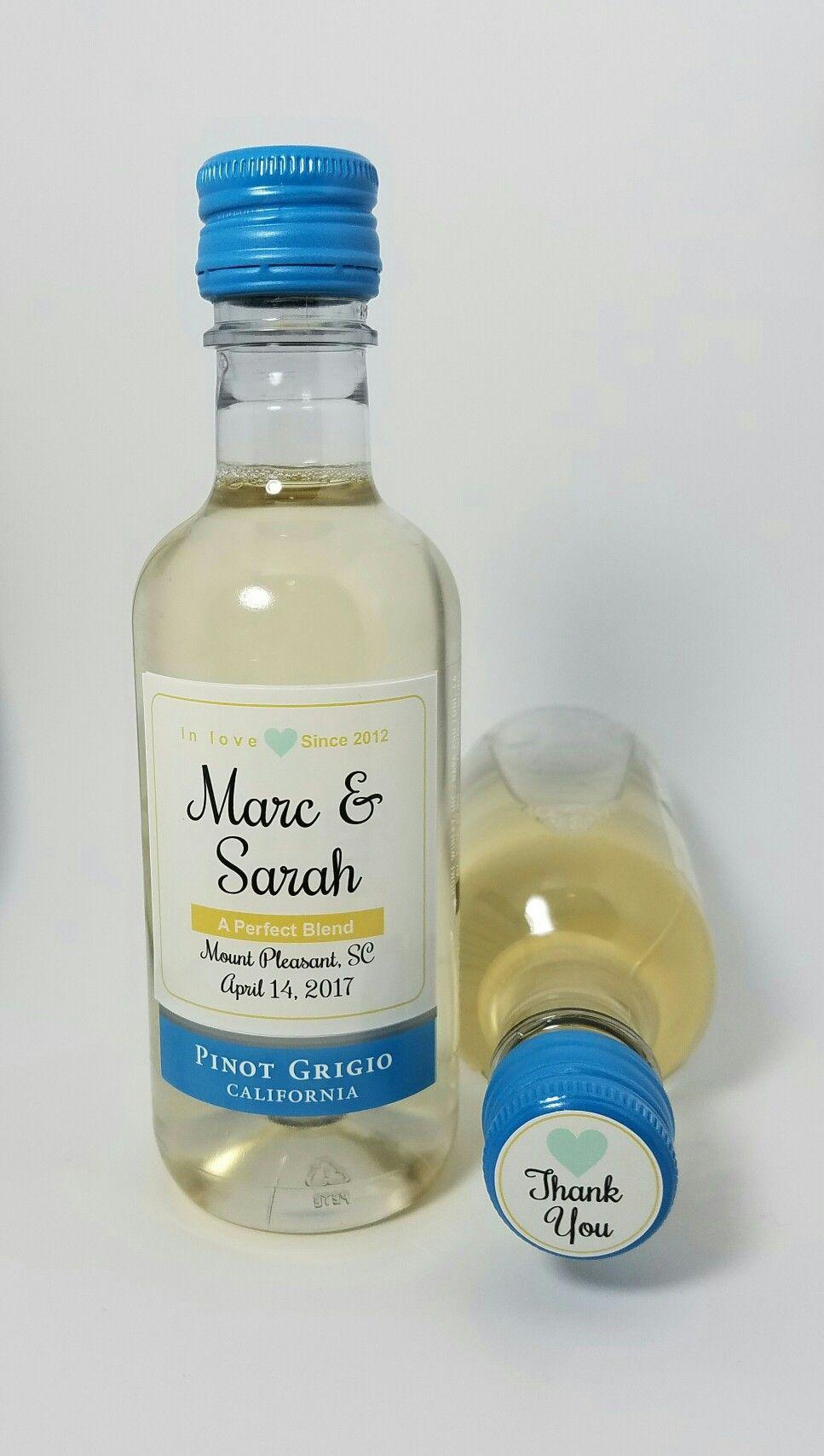 Custom Sutter Home 187ml Mini Wine Bottle and Cap Labels. www ...