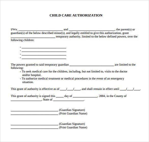 Hashdoc Letter For Sample Authorization Care Child Passport Travel