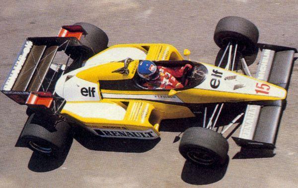 1984 jacarepagua patrick tambay renault re50 st patrick tambay formula 1 car. Black Bedroom Furniture Sets. Home Design Ideas