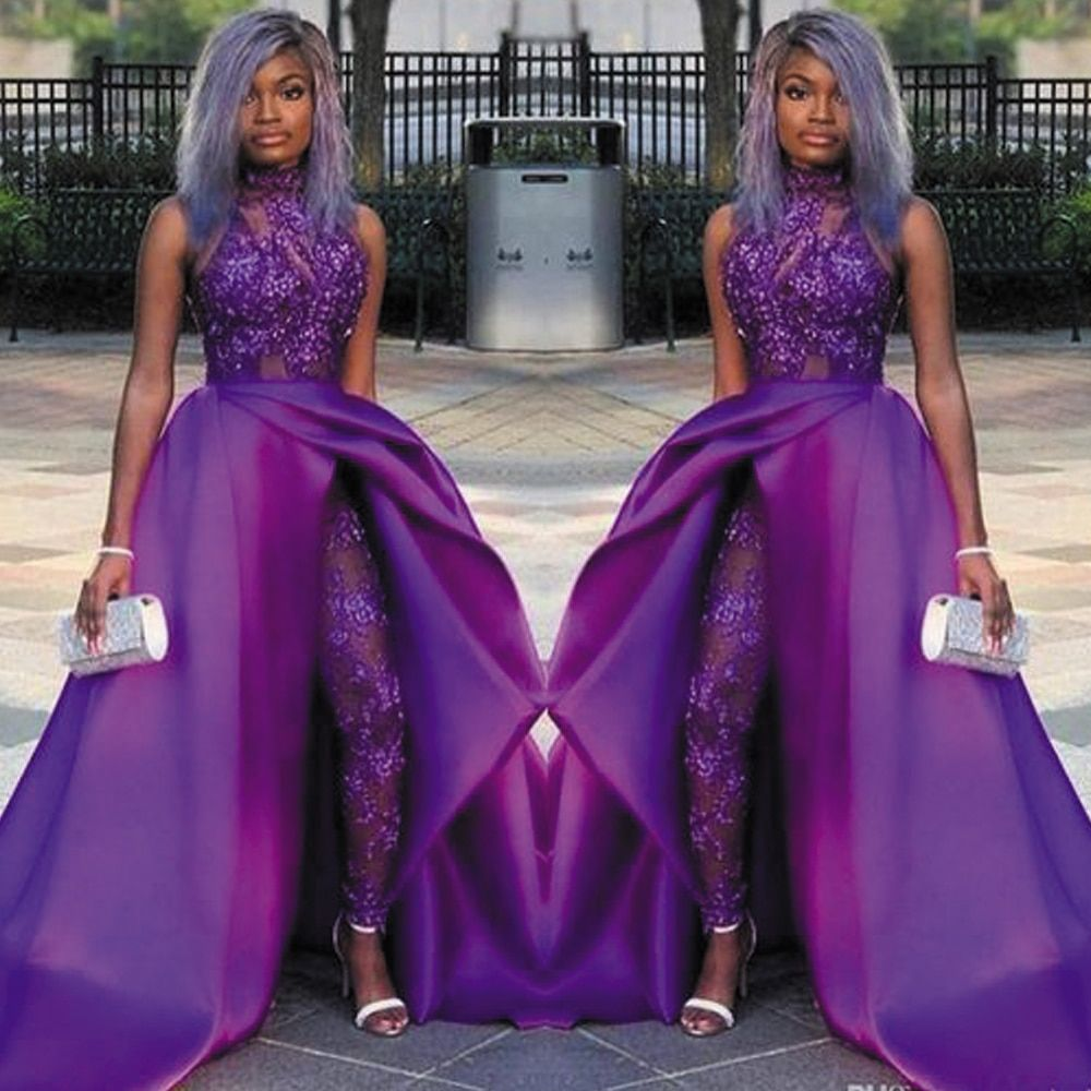 Cheap Prom Dresses Buy Quality Weddings Events Directly From China Suppliers Superkimjo Detachable Ski Jumpsuit Prom Dress Purple Dress Outfits Prom Dresses [ 1000 x 1000 Pixel ]