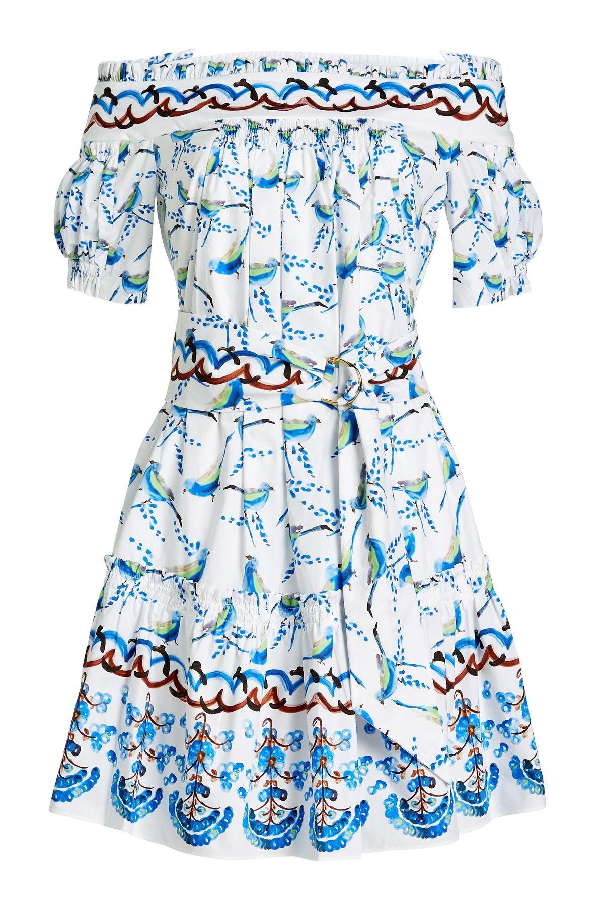 Printed cotton dress Peter Pilotto ZJyENwggg