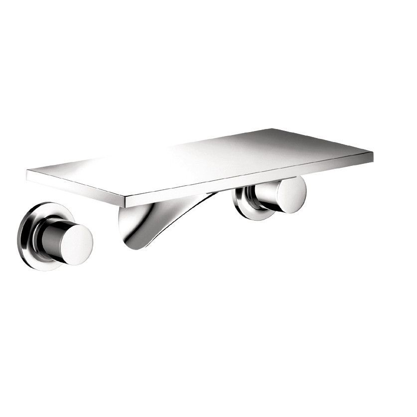 Hansgrohe 18112001 Chrome Axor Massaud Bathroom Faucet Wall Mount ...
