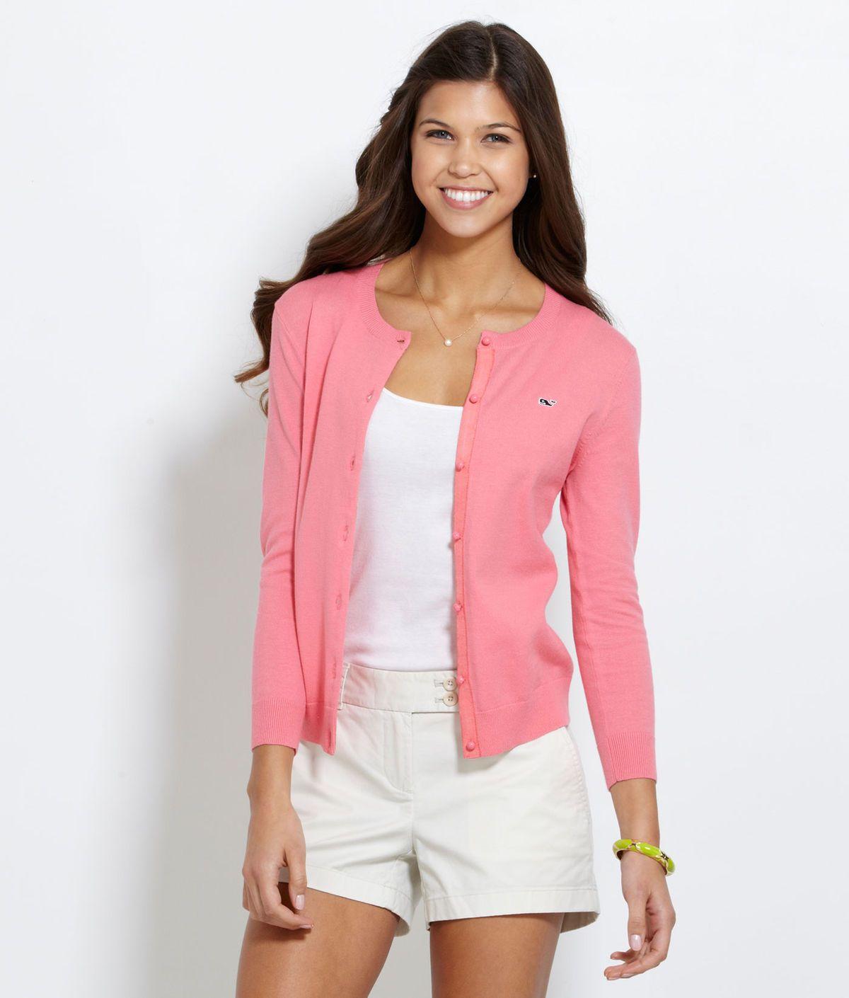 Women's Cardigan Sweaters: Casey Cardigan Sweater – Vineyard Vines ...