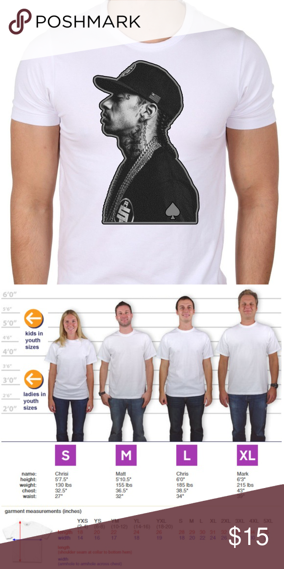39fda44c5 Nipsey Hussle Profile Portrait White T-shirt Brand new made to order  REQUEST YOUR SIZE