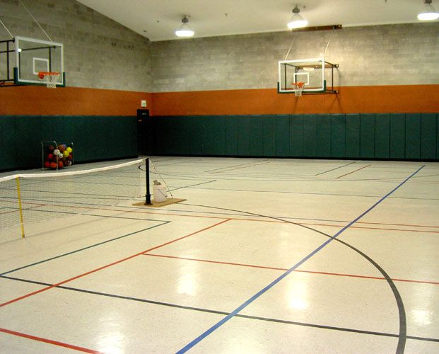 Confortable Indoor Basketball Court 2969