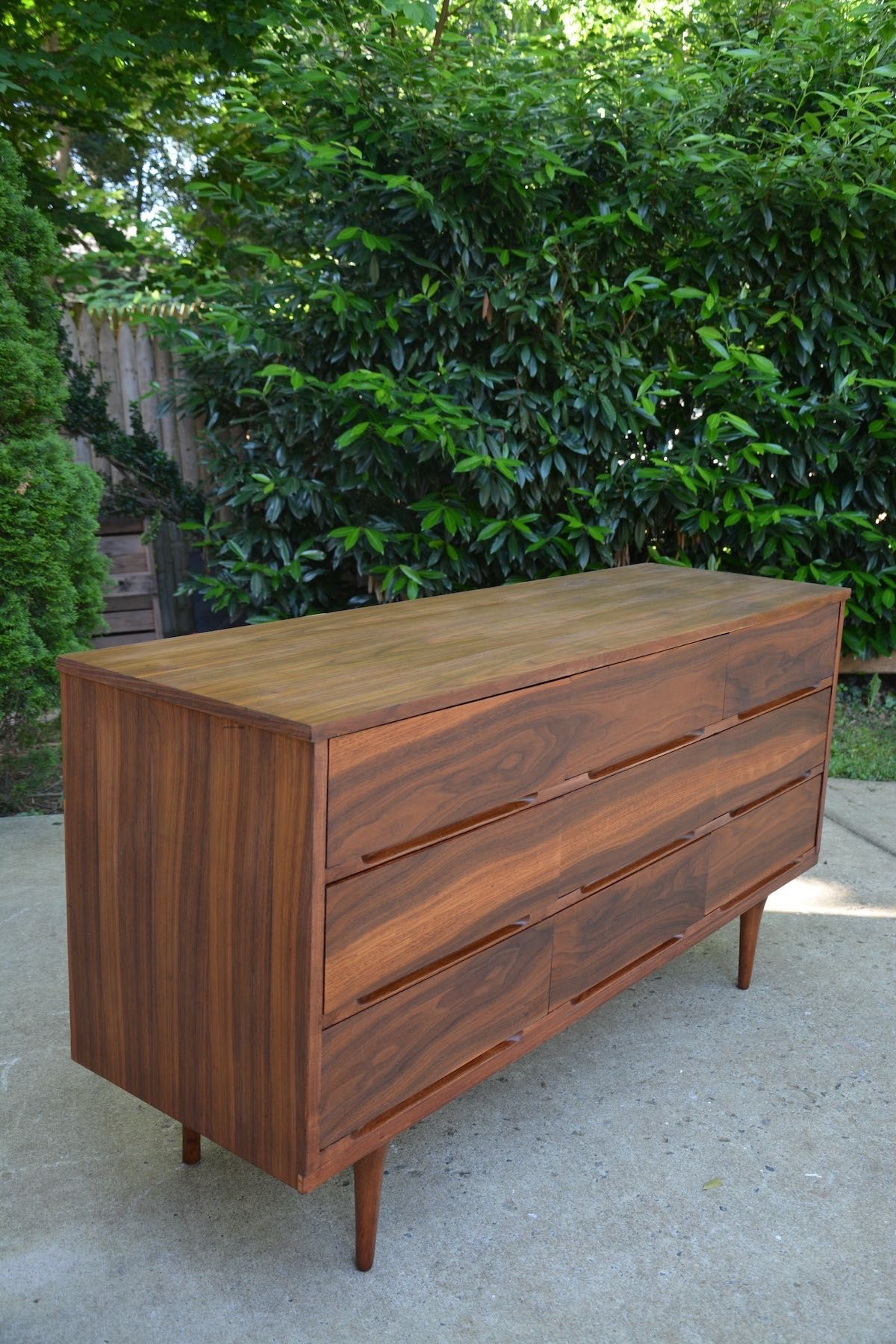 Best Mid Century Modern Dresser Makeover Stripped And 400 x 300