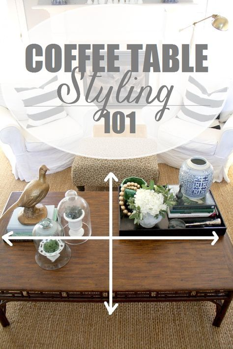 How To Style a Coffee Table is part of How To Style A Coffee Table The Everygirl - How To Style a Coffee Table