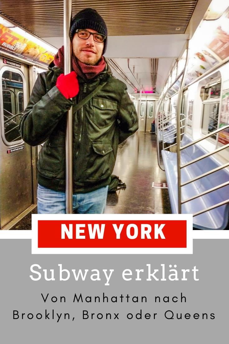 , Du planst eine Reise nach New York? Wir zeigen dir schon einmal, wie die Subway funktioniert.    #NewYork #NYC, My Travels Blog 2020, My Travels Blog 2020