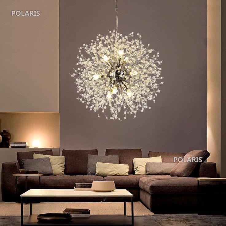 Design Deckenlampe Wohnzimmer Leuchte LED Deckenleuchte kristall Lampe G9 modern