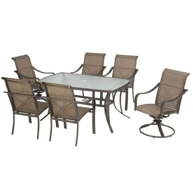 Cool Bethany Grand Banks Collection 7 Piece Patio Furniture Uwap Interior Chair Design Uwaporg