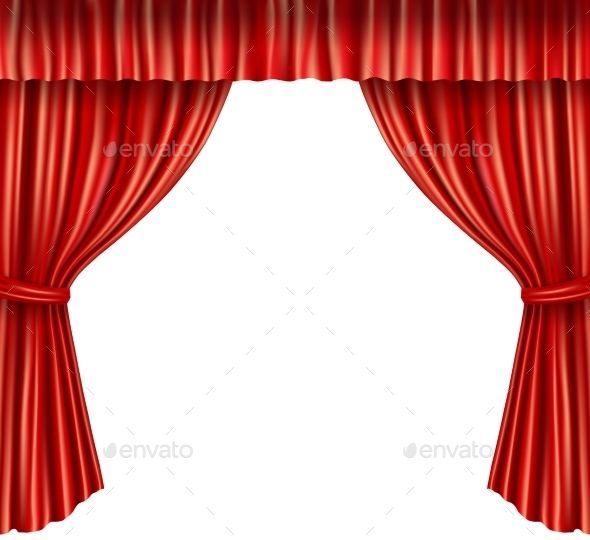 Theater Curtains Stage Curtains Theatre Curtains Red Velvet