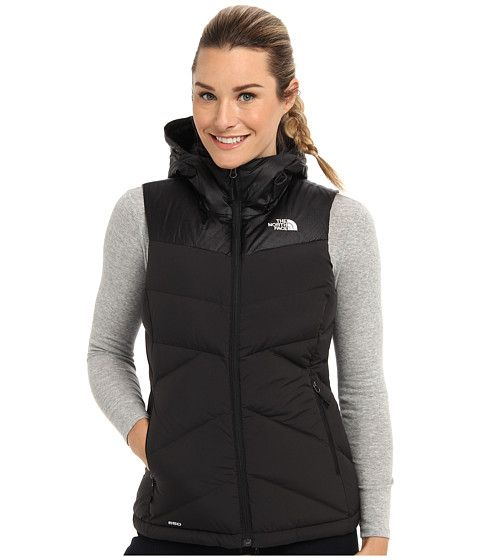 bc608ea1c The North Face Kailash Hooded Vest TNF Black/TNF Black - Zappos.com ...
